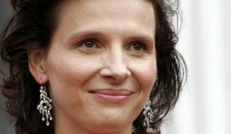 """French actress Juliette Binoche gained worldwide acclaim in the American film of the Czech novel """"The Unbearable Lightness of Being."""" Her latest film is """"Paris."""" Jane Campion (below) wrote and directed """"Bright Star,"""" the story of the relationship between poet John Keats and Fanny Brawne. (Associated Press)"""