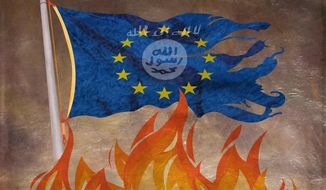 The Demise of the European Union Illustration by Greg Groesch/The Washington Times