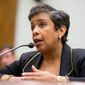 """""""With respect to individuals being transferred to the United States, the law currently does not allow for that and that, as far as I'm aware of, is not going to be contemplated given the legal proscriptions,"""" Attorney General Loretta Lynch said. (Associated Press)"""