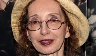 "In a tweet Sunday afternoon, Joyce Carol Oates asked why ""All we hear of ISIS is puritanical & punitive; is there nothing celebratory & joyous? Or is query naive?"" (Associated Press)"