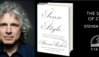 Steven Pinker, Harvard professor and bestselling author.