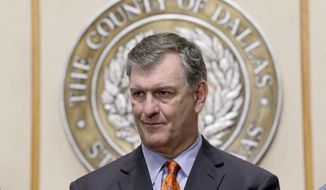 Dallas Mayor Mike Rawlings (Associated Press) **FILE**