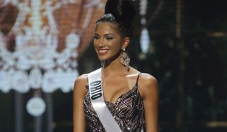 As a former Miss Ohio USA who competed in the 2014 Miss USA pageant, Madison Gesiotto has more experience handling public scrutiny than most other people her age. (Associated Press)