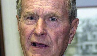 George H. W. Bush   Associated Press photo