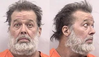 Colorado Springs shooting suspect Robert Lewis Dear of North Carolina is seen in undated photos provided by the El Paso County Sheriff's Office. A gunman burst into a Planned Parenthood clinic Friday, Nov. 27, 2015, and opened fire, launching several gunbattles and an hourslong standoff with police as patients and staff took cover. By the time the shooter surrendered, at least three people were killed, including a police officer and at least nine others were wounded, authorities said.  (El Paso County Sheriff's Office via AP)