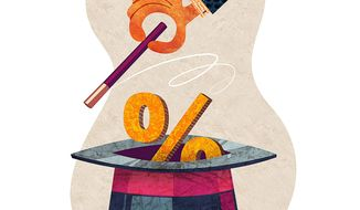 Magical Rate Increase Illustration by Greg Groesch/The Washington Times