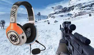 Electronic Arts' video game Star Wars: Battlefront and Turtle Beach's Sandtrooper Gaming Headset make a great gift set for the PlayStation 4 owner.