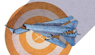 Turkey Provokes Russia by Downing Plane Illustration by Greg Groesch/The Washington Times