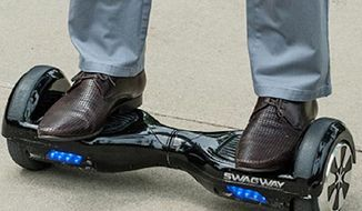 New York City activists plan to rally Saturday against the city's hoverboard ban that they believe unfairly targets minorities and the poor. (QVC)