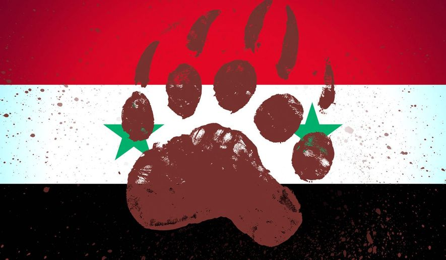 Illustration on Russia in the Middle East by M. Ryder/Tribune Content Agency