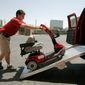 An audit report revealed Hoveround frequently claimed Medicare reimbursements for power wheelchairs and scooters it provided to beneficiaries that did not meet medical-necessity requirements in an apparent scam. (Associated Press)