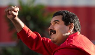 Venezuela's President Nicolas Maduro has seen his popularity plummet in Venezuela to below 25 percent amid food and goods shortages and rising crime.