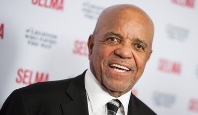 In a Dec. 6, 2014, file photo, Berry Gordy arrives at Selma And The Legends That Paved The Way Gala, in Goleta, Calif. (Photo by Richard Shotwell/Invision/AP, File)