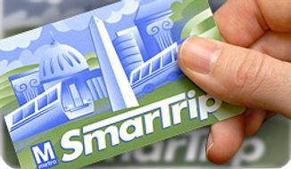 Metro SmarTrip card. ** FILE **