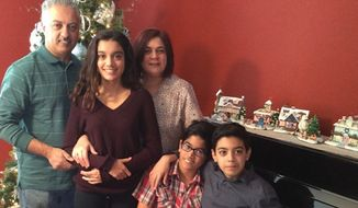 Bennetta Betbadal, one of the 14 people killed in Wednesday's mass shooting in San Bernardino, California, had fled from Iran to the U.S. to escape Islamic extremism, her family says. (Gofundme)