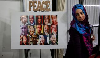 Some American Muslim advocates are calling for an end to extremism and equality of the sexes following Wednesday's California shootings. (Associated Press)