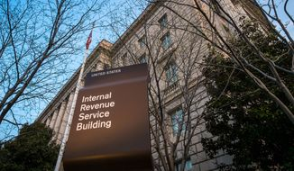 The Internal Revenue Service. (Associated Press) ** FILE **