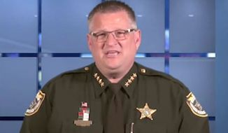 Brevard County, Florida, Sheriff Wayne Ivey is calling on citizens to arm themselves in the wake of last week's terror attack in San Bernardino, California, that left 14 people dead. (Facebook/@Brevard County Sheriff's Office, Florida)