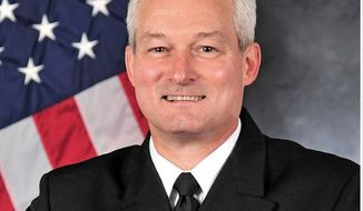 Rear Adm. David F. Baucom (Image: U.S. Navy)