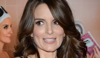 "Tina Fey attends the premiere of ""Sisters"" at the Ziegfeld Theatre on Tuesday, Dec. 8, 2015, in New York. (Photo by Evan Agostini/Invision/AP)"
