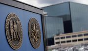 This June 6, 2013, file photo, shows a sign outside the National Security Agency (NSA) campus in Fort Meade, Md. (AP Photo/Patrick Semansky, File)