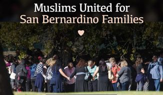 U.S. Muslims have raised more than $120,000 for the families of the 14 people killed last week by two Islamic extremists in San Bernardino, California. (LaunchGood.com/@Muslims United for San Bernardino)