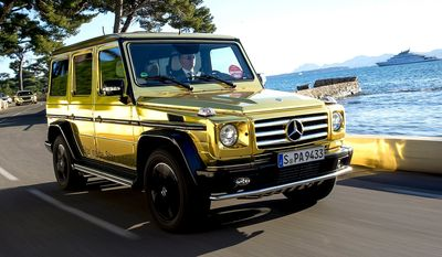 MERCEDES BENZ G-CLASS sometimes called G-Wagen, is a four-wheel drive luxury SUV manufactured by Magna Steyr (formerly Steyr-Daimler-Puch) in Austria and sold by Mercedes-Benz. In certain markets, it has been sold under the Puch name as Puch G. The G-wagen is characterized by its boxy styling and body-on-frameconstruction. It uses three fully locking differentials, one of the few vehicles to have such a feature. Despite the introduction of an intended replacement, the unibody SUV Mercedes-Benz GL-Class in 2006, the G-Class is still in production and is one of the longest produced Mercedes-Benz in Daimler's history, with a span of 35 years. Only the Unimog surpasses it.[2] The G-class was developed as a military vehicle from a suggestion by the Shah of Iran (at the time a significant Mercedes shareholder) to Mercedes[3] and offered as a civilian version in 1979.