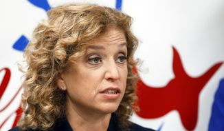 Congresswoman Debbie Wasserman Schultz, Democratic National Committee chair (Associated Press) **FILE**