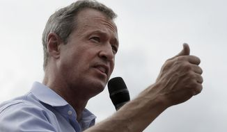 In November, Martin O'Malley reshuffled his campaign, sending staffers from his Baltimore headquarters to Iowa. (Associated Press)