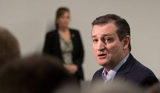 Republican presidential candidate Sen. Ted Cruz of Texas has surged to the lead in early-voting Iowa, besting national front-runner Donald Trump. (Associated Press)