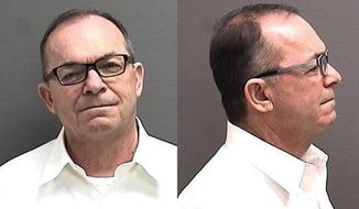 This April 20, 2015 booking photo provided by the Cascade County Detention Center shows Tim Blixseth, 64, of Medina, Wash. Yellowstone Club founder Blixseth  has been in a Montana jail since April. That's when a judge found him in contempt of court for failing to fully disclosing what happened to part of his fortune. Attorneys for the club's remaining creditors say that on Dec. 7, 2015, Blixseth refused to come out of his jail cell for a previously scheduled deposition. They want a federal judge to force Blixseth to appear for a deposition this week and repay them more than $31,000 in legal expenses. Blixseth attorney Paul Brain says his client had no obligation to appear. (Cascade County Detention Center via AP, File)