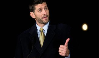 House Speaker Paul D. Ryan said that while the GOP may not get everything it wants in ongoing budget negotiations to keep the government open, he remains hopeful that the U.S. oil export ban, long on the Republican priority list, can be lifted. (Associated Press)