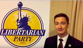 Libertarian National Committee Chairman Nicholas Sarwark is determined to attract Muslim Republicans to his party. (Libertarian Party)