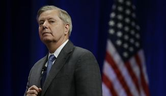 Sen. Lindsey Graham. (Associated Press) ** FILE **