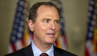 Rep. Adam Schiff, D-Calif., speaks to the media on Capitol Hill in Washington, in this Oct. 22, 2015, file photo. (AP Photo/Jacquelyn Martin, File)