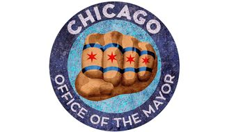 Seal of Chicago Mayor Emanuel Illustration by Greg Groesch/The Washington Times