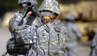 In basic combat training, women are injured at twice the rate of men. For example, among the fastest groups of men and women in a 2-mile run, the male injury rate is 10 percent and the female rate is 26 percent. Women have a rate of stress factors during training four times higher than men. (Associated Press)