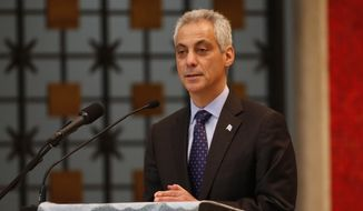 Chicago Mayor Rahm Emanuel. (Associated Press) ** FILE **