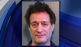 "Anthony Cumia, former co-host of the ""Opie and Anthony"" radio show, was charged Saturday in Long Island with strangulation, assault, criminal mischief and unlawful imprisonment. (Nassau County Police Department)"