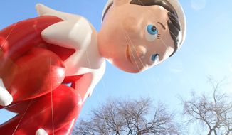 Toying with Christmas message: Some parents says the popularity of the Elf on the Shelf toy takes yet more focus away from the religious meaning of the Christmas story. (Associated Press)