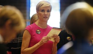 Planned Parenthood chief Cecile Richards said stripping her organization of federal funding would cut off access to birth control, cancer screenings and treatment for sexually transmitted infections. (Associated Press)