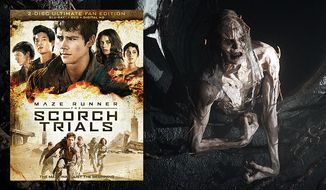 The creepy Cracks co-star in Maze Runner: The Scorch Trails, now available on Blu-ray from 20th Century Fox Home Entertainment.
