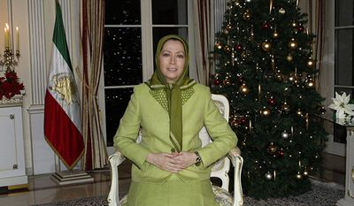 Message of Mrs. Maryam Rajavi, the President-elect of the National Council of Resistance of Iran on the occasion of Christmas and New Year