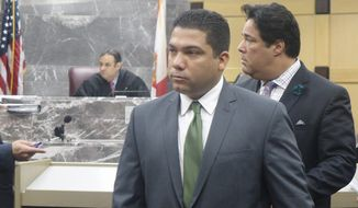 Broward County Sheriff's Deputy Peter Peraza was indicted on manslaughter charges on Dec. 11, 29 months after the on-duty shooting of Jermaine McBean. (Associated Press)