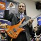 Rock fan and Republican presidential hopeful Mike Huckabee has his own band, Capitol Offense, in which the former Arkansas governor plays bass. Fellow 2016 hopeful Martin O'Malley also has a band. (Associated Press)