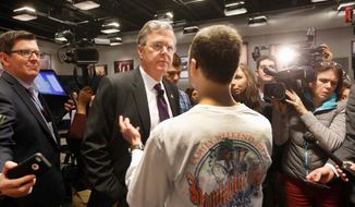 Polling over the summer showed some youth and Hispanic support for Republican presidential candidate Jeb Bush, but much has changed. (Associated Press)