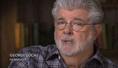 """Star Wars"" creator George Lucas blasted Disney as ""white slavers"" in reference to the conglomerate's $4 billion acquisition of Lucasfilm three years ago. (Hulu)"