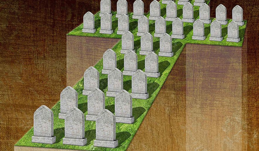 Inaction against the Genocide of Christians Illustration by Greg Groesch/The Washington Times