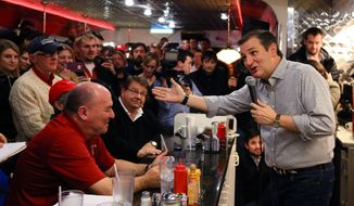 Presidential candidate Ted Cruz is still spending time in Iowa, but he is one of the few in the wide Republican field who have kept up aggressive travel schedules in states that don't hold nominating contests until March or later. (Associated Press)
