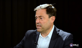 Pastor Mark Dever. (Image: Screen shot from video produced by the Ethics and Religious Liberty Commission (ERLC) of the Southern Baptist Convention)